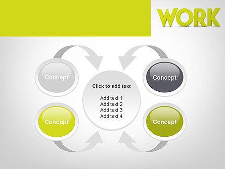 Word WORK PowerPoint Template Slide 6