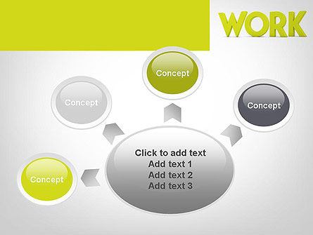 Word WORK PowerPoint Template Slide 7