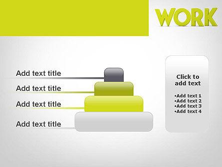 Word WORK PowerPoint Template Slide 8