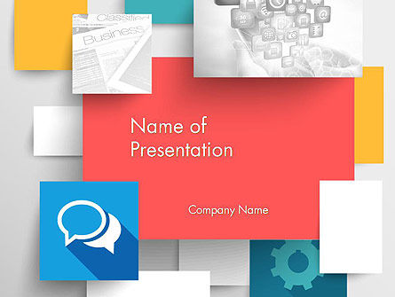 Multilayered PowerPoint Template