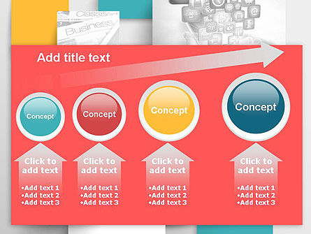 Multilayered PowerPoint Template Slide 13