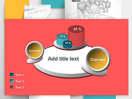 Multilayered PowerPoint Template Slide 16