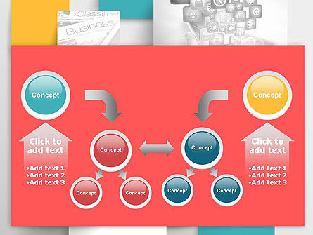Multilayered PowerPoint Template Slide 19