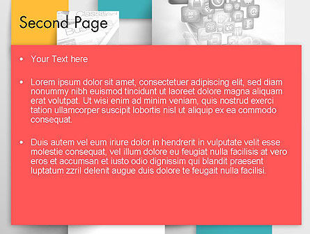 Multilayered PowerPoint Template Slide 2