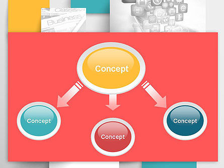 Multilayered PowerPoint Template Slide 4
