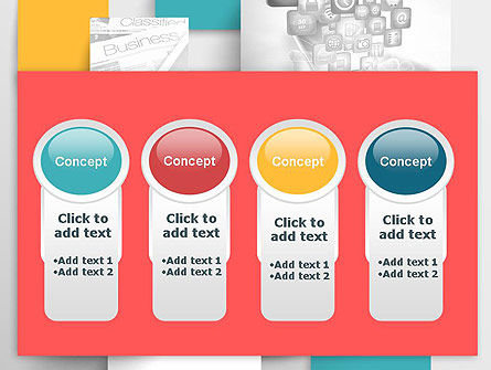Multilayered PowerPoint Template Slide 5
