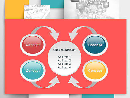 Multilayered PowerPoint Template Slide 6