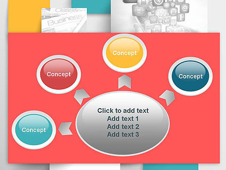 Multilayered PowerPoint Template Slide 7