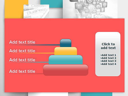 Multilayered PowerPoint Template Slide 8