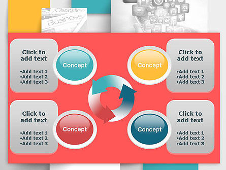 Multilayered PowerPoint Template Slide 9