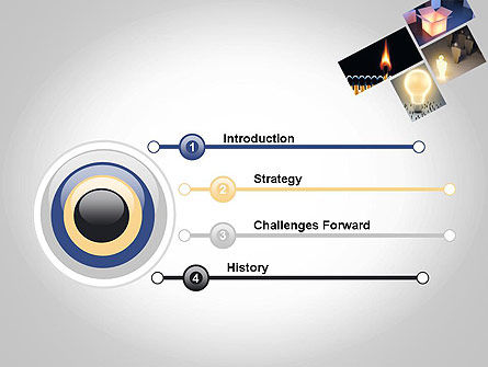 Ideation PowerPoint Template, Slide 3, 11901, Education & Training — PoweredTemplate.com