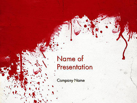 Abstract/Textures: The War PowerPoint Template #11903