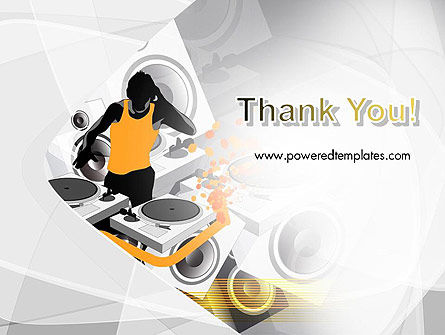 Dance Music PowerPoint Template Slide 20