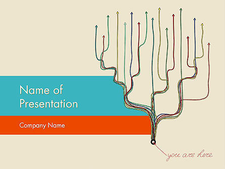 Decisions and Strategies PowerPoint Template