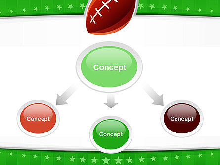 Super Bowl Theme PowerPoint Template, Slide 4, 11908, Sports — PoweredTemplate.com