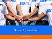 People: Volunteers PowerPoint Template #11909