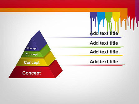 Paint Spills PowerPoint Template Slide 12