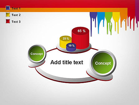 Paint Spills PowerPoint Template Slide 16