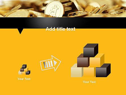 Bitcoins PowerPoint Template Slide 13