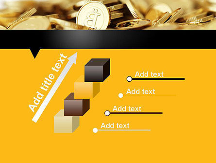 Bitcoins PowerPoint Template Slide 14