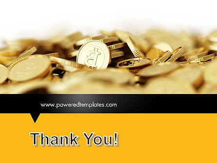 Bitcoins PowerPoint Template Slide 20