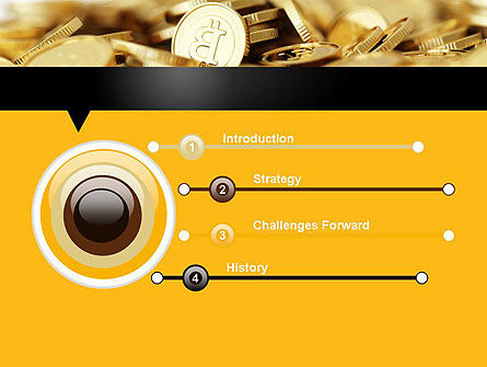 Bitcoins PowerPoint Template, Slide 3, 11914, Financial/Accounting — PoweredTemplate.com