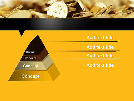 Bitcoins PowerPoint Template, Slide 4, 11914, Financial/Accounting — PoweredTemplate.com