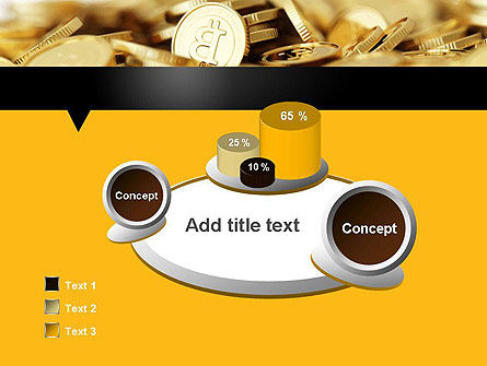 Bitcoins PowerPoint Template Slide 6