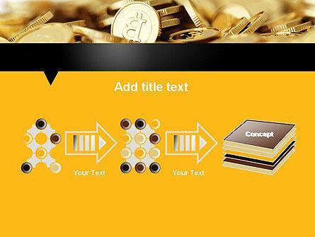 Bitcoins PowerPoint Template Slide 9