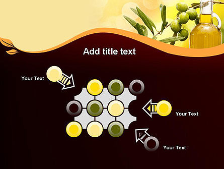 Olives and Oil PowerPoint Template Slide 10