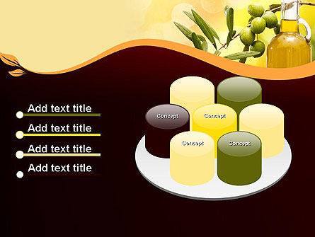 Olives and Oil PowerPoint Template Slide 12