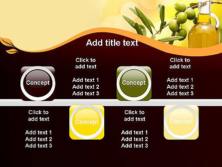 Olives and Oil PowerPoint Template Slide 18