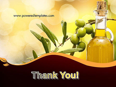 Olives and Oil PowerPoint Template Slide 20