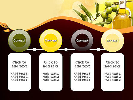 Olives and Oil PowerPoint Template Slide 5