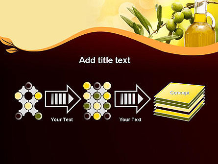 Olives and Oil PowerPoint Template Slide 9