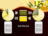 Olives and Oil PowerPoint Template#16