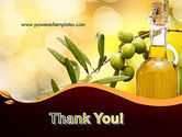 Olives and Oil PowerPoint Template#20