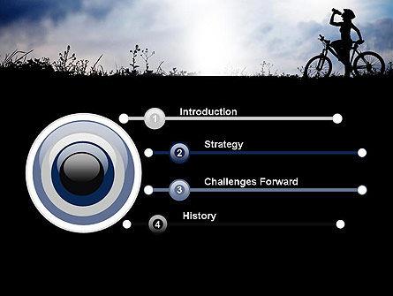 Healthy Habits PowerPoint Template, Slide 3, 11917, Sports — PoweredTemplate.com