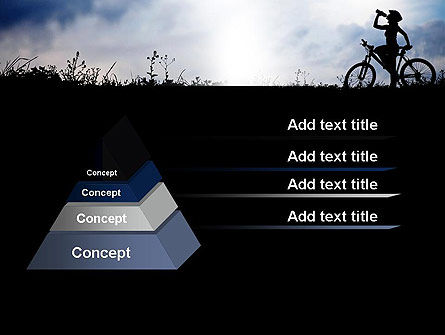 Healthy Habits PowerPoint Template, Slide 4, 11917, Sports — PoweredTemplate.com