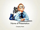 Education & Training: Professional Approach PowerPoint Template #11918