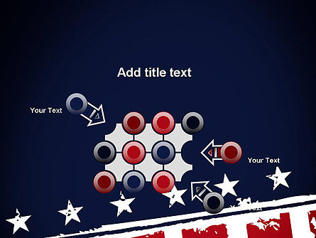 USA Flag Theme PowerPoint Template Slide 10