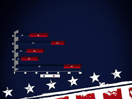 USA Flag Theme PowerPoint Template Slide 11