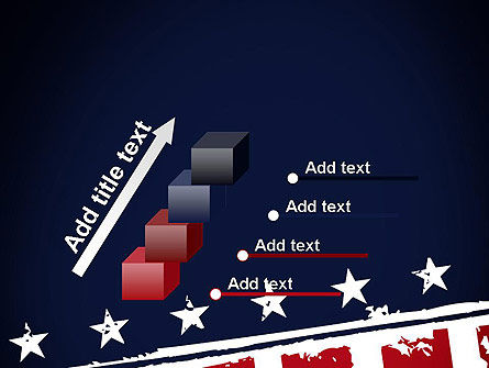 USA Flag Theme PowerPoint Template Slide 14