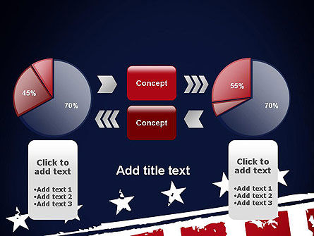 USA Flag Theme PowerPoint Template Slide 16