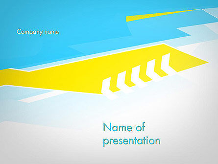 Abstract Acute Angles PowerPoint Template, 11923, Abstract/Textures — PoweredTemplate.com