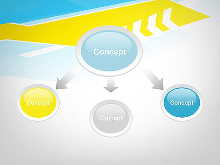 Abstract Acute Angles PowerPoint Template Slide 4