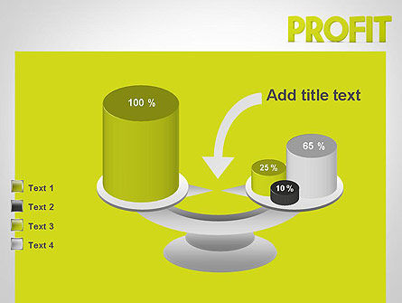 Word PROFIT PowerPoint Template Slide 10