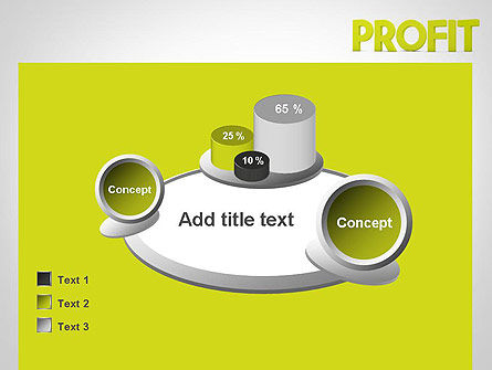 Word PROFIT PowerPoint Template Slide 16
