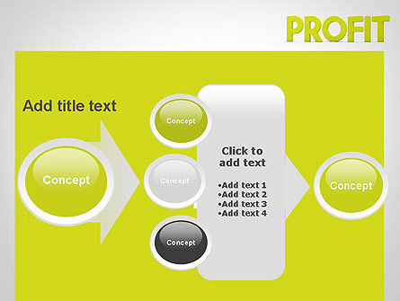 Word PROFIT PowerPoint Template Slide 17