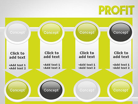 Word PROFIT PowerPoint Template Slide 18